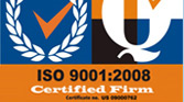 ISO 9000:2008 Registered Firm